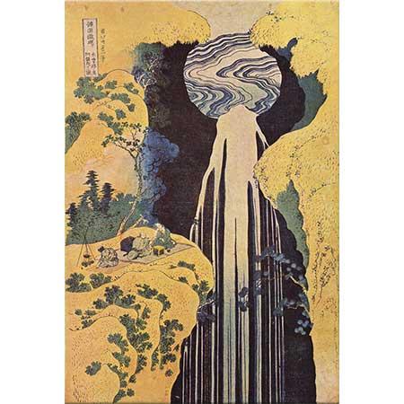 Katsushika Hokusai Amida Şelalesi