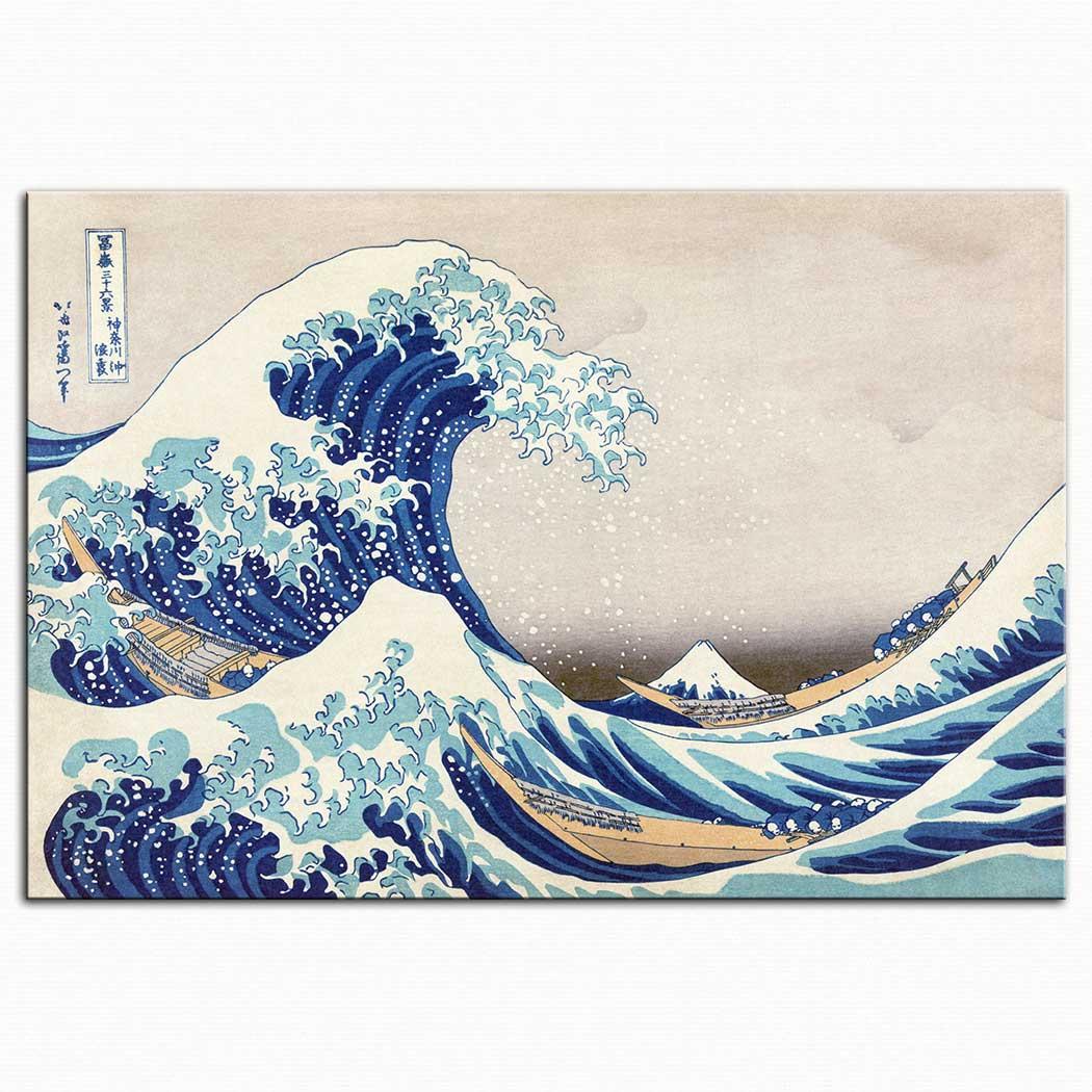 Katsushika Hokusai Büyük Dalga