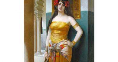 Leon François Comerre Arap Güzeli Meryem
