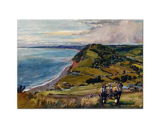 Lionel Edwards Dorset Körfezi Boyunca