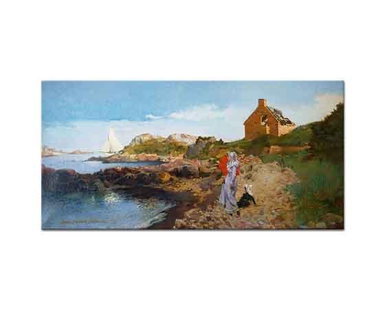 Louis Robert Carrier Belleuse Deniz Kıyısı