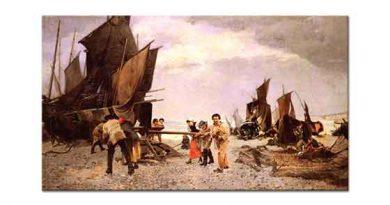 Louis Robert Carrier Belleuse Liman Hatırası