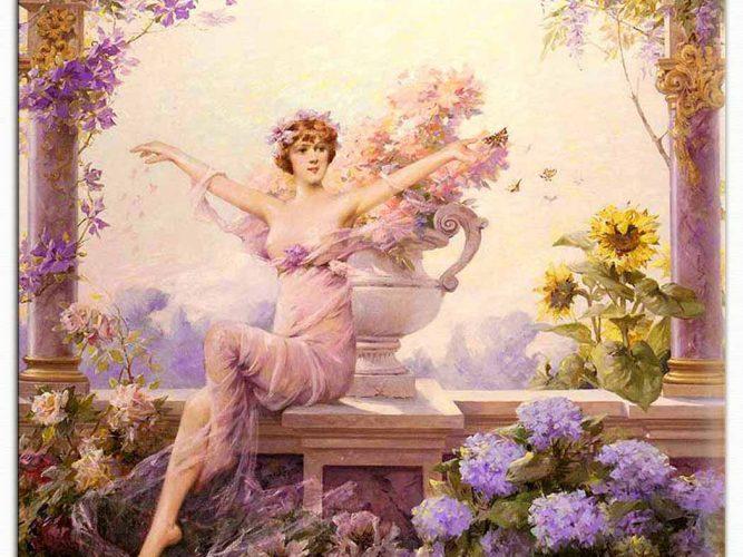 Louise Abbema çiçeklik