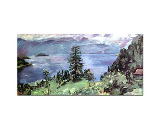 Lovis Corinth Walchensee Panoraması