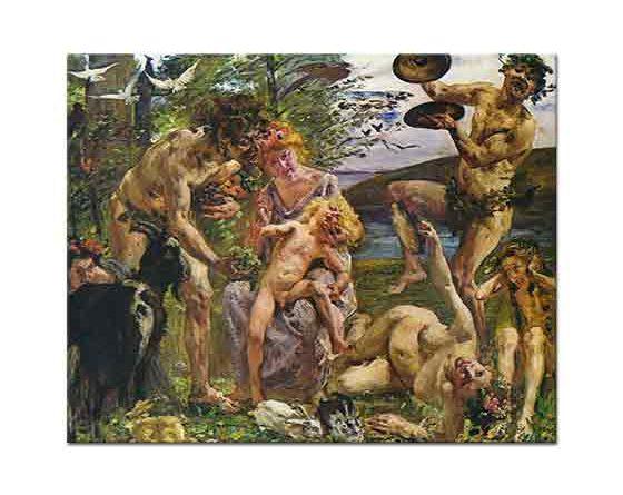 Lovis Corinth Zeus'un Çocukluğu