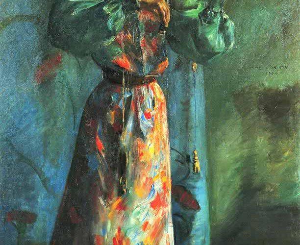 Lovis Corinth Keman Çalan Kadın