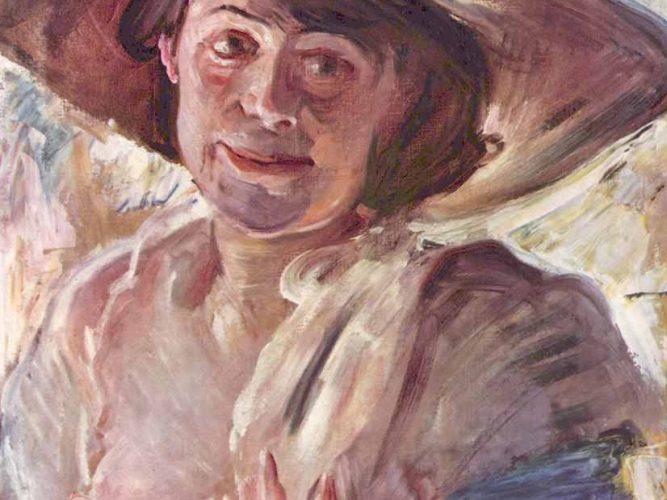 Lovis Corinth Charlotte Berend