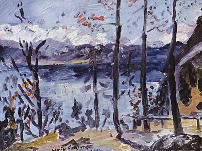Lovis Corinth Walchensee'de Paskalya