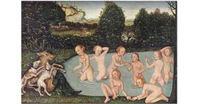 Lucas Cranach Diana ve Actaeon