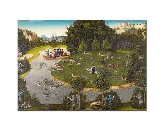 Lucas Cranach Geyik Avı