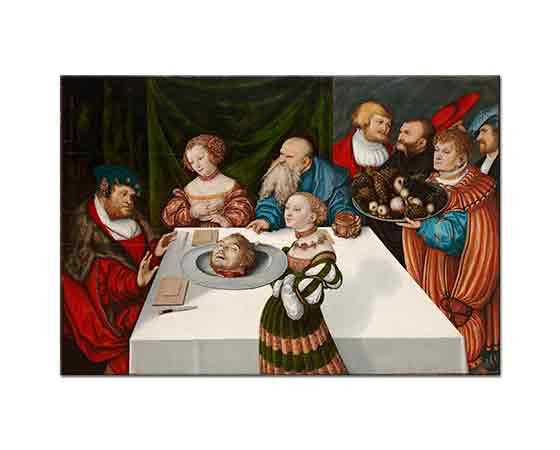 Lucas Cranach Herodes'in Şöleni