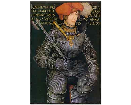 Lucas Cranach Joachim II'nin Portresi