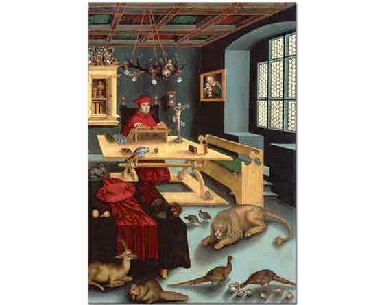 Lucas Cranach Kardinal Albrecht von Brandenburg