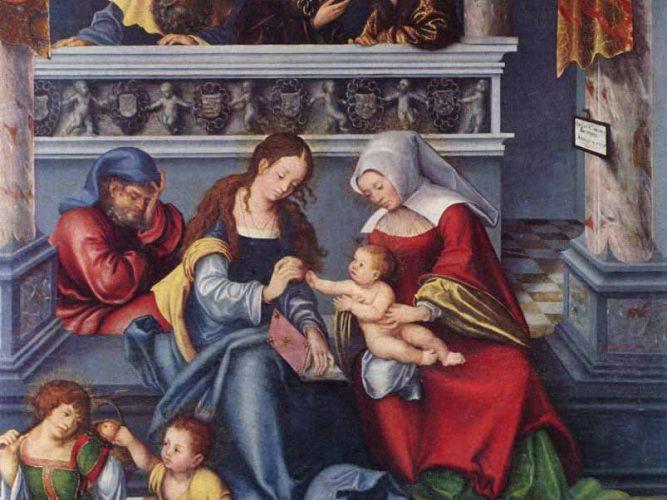 Lucas Cranach Kutsal Aile