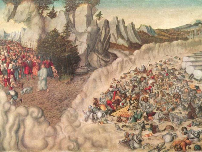 Lucas Cranach Firavun'un Boğuluşu