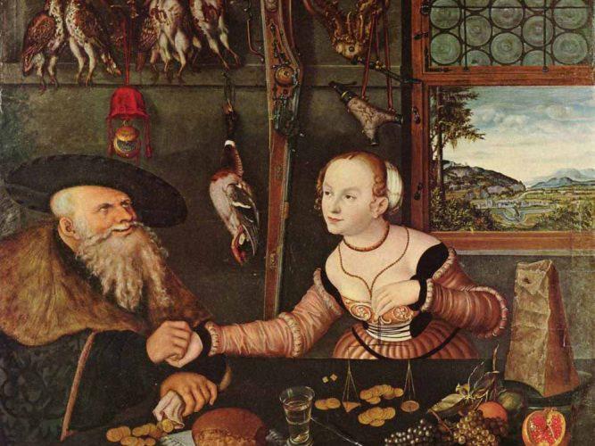 Lucas Cranach Ödeme