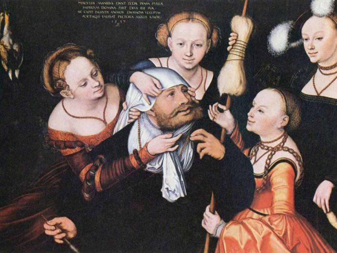 Lucas Cranach Heraklus