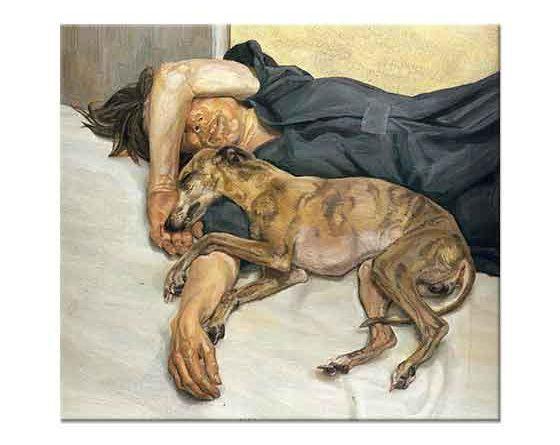 Lucien Freud İstirahat