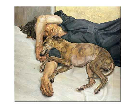 Lucien Freud İstirahat