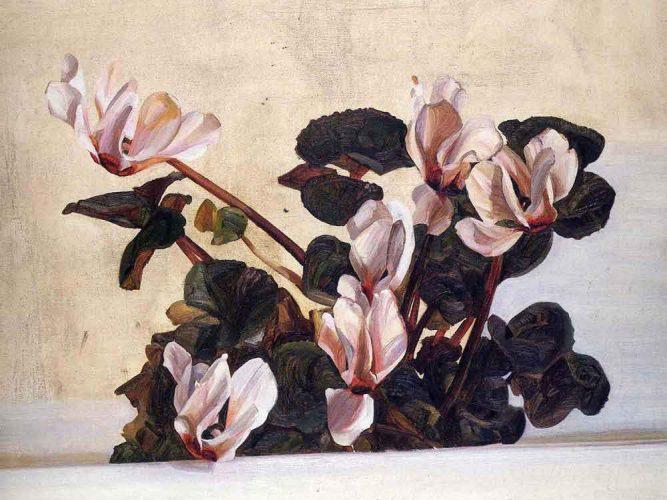 Lucien Freud Orkide tablosu