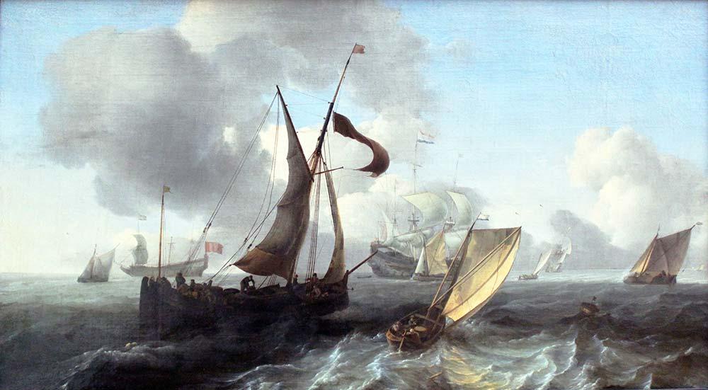 Ludolf Backhuysen Deniz Manzarası