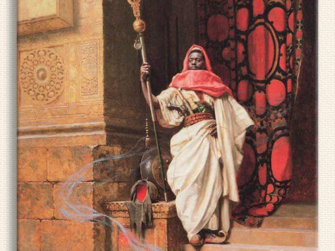 Ludwig Deutsch Saray Bekçisi tablosu
