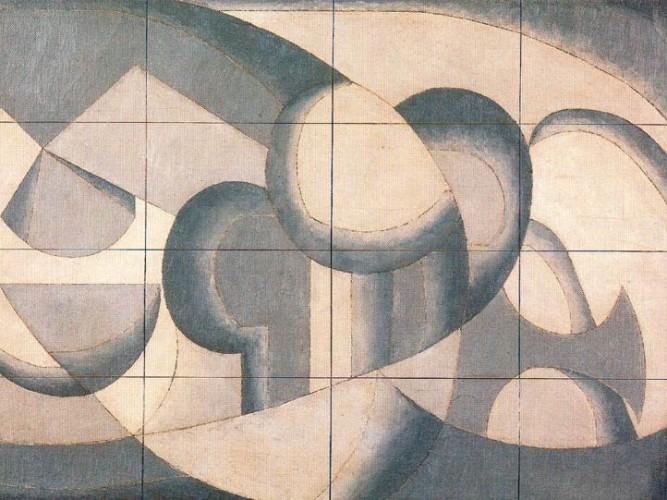 Luis Fernandez Soyut tablosu
