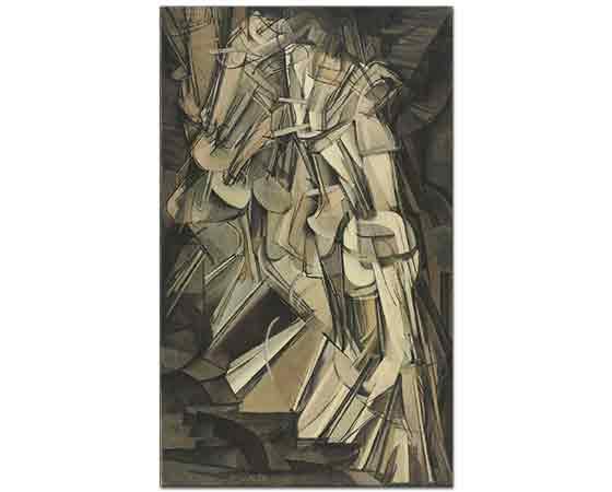 Marcel Duchamp Sandalyeye Uzanmış Nü