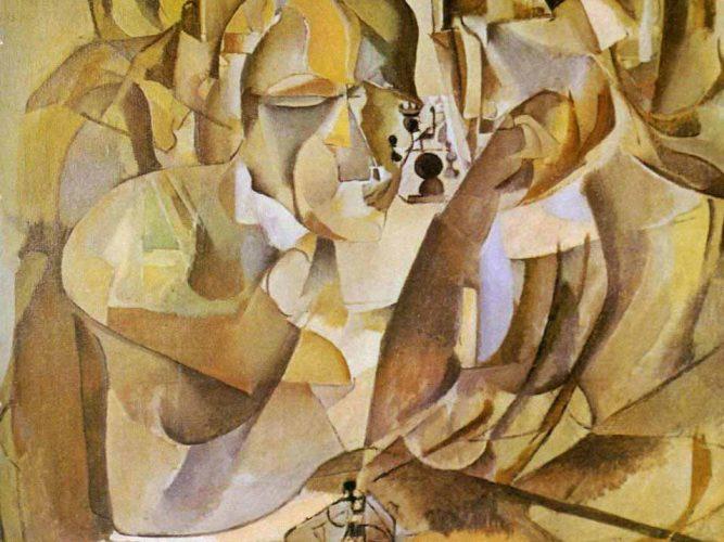 Marcel Duchamp Satranç Oynayanlar