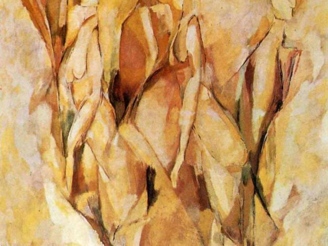 Marcel Duchamp Dulcinea tablosu