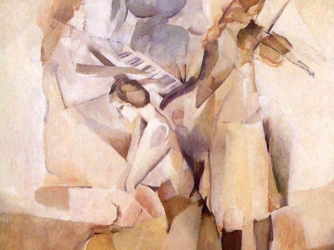 Marcel Duchamp Sonat tablosu