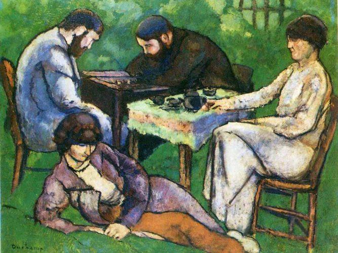 Marcel Duchamp Satranç Oyunu