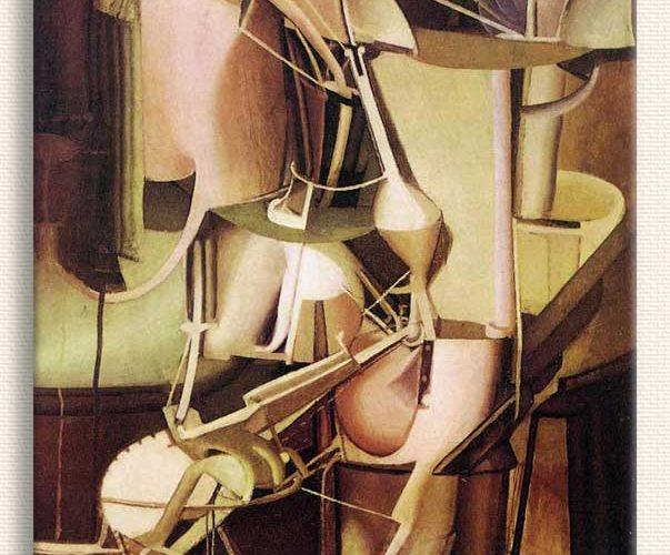 Marcel Duchamp Gelin tablosu