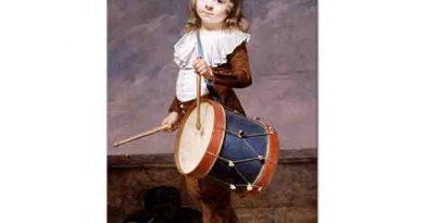 Martin Drölling Sanatçının Oğlunun Portresi
