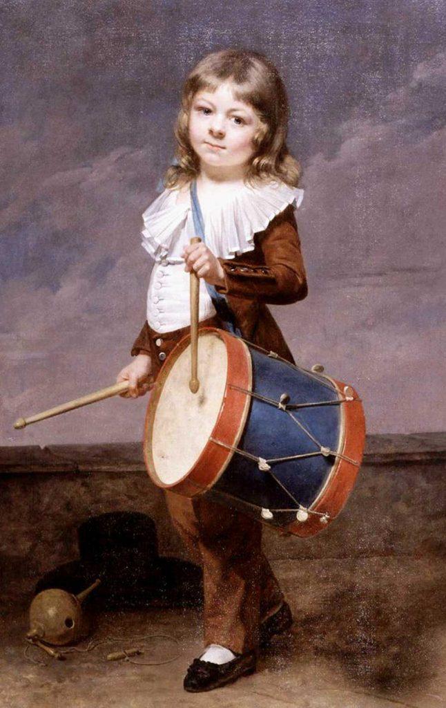 Martin Drolling Sanatçının Oğlunun Portresi