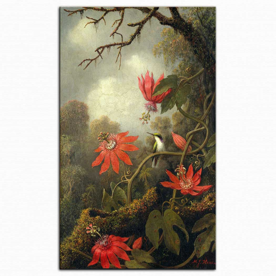 Martin Johnson Heade çarkıfelek ve kalibri