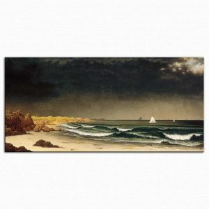 Martin Johnson Heade Yaklaşan Fırtına Newport