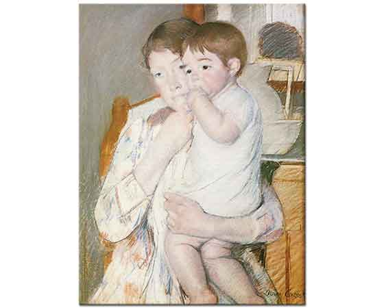 Mary Cassatt Anne Kucağı