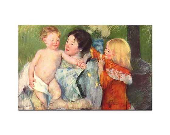 Mary Cassatt Banyo Sonrası