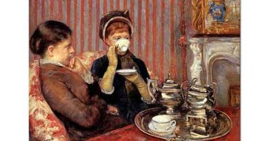 Mary Cassatt Çay Saati