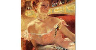 Mary Cassatt Locadaki inci Kolyeli Kadın