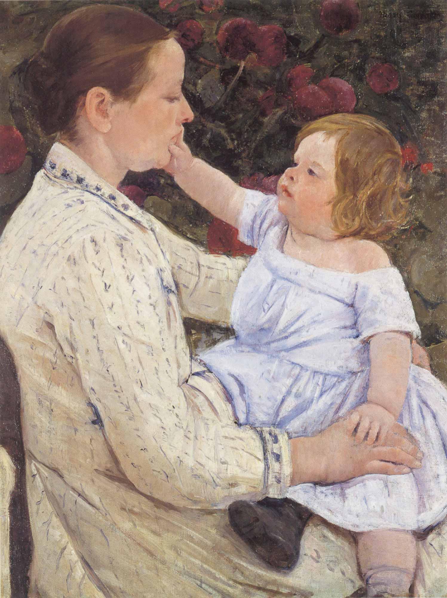 Mary Cassatt Okşama