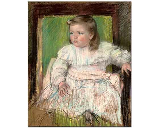 Mary Cassatt Pembe Kuşak