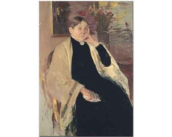 Mary Cassatt Sanatçının Annesi