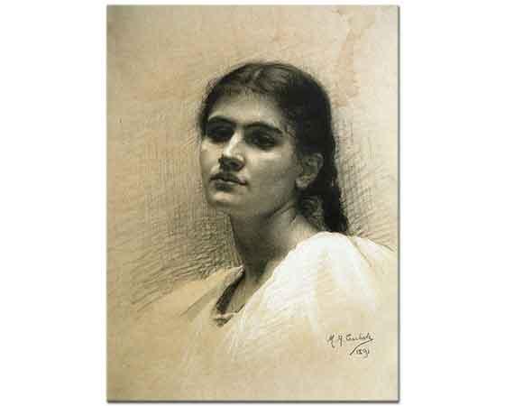 Mary Helen Carlisle Kadın Portresi