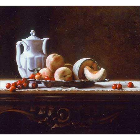 Maureen Hyde Kirazlar Şeftaliler ve Limon