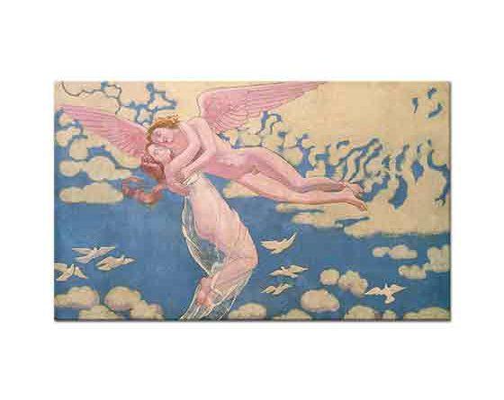 Maurice Denis Cupidin Psycheyi Cennete Taşıması