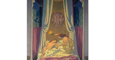 Maurice Denis Psyche Gizli Aşığının Cupid Olduğunu Keşfeder