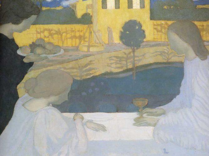 Maurice Denis Martha ve Mary tablosu