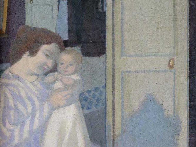 Maurice Denis Anne ve Çocuk tablosu